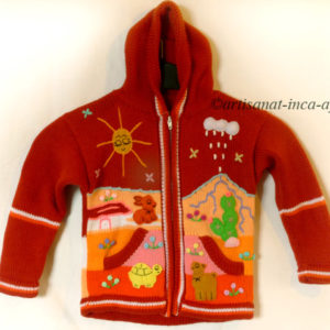 gilet-enfant-5-6ans-orange