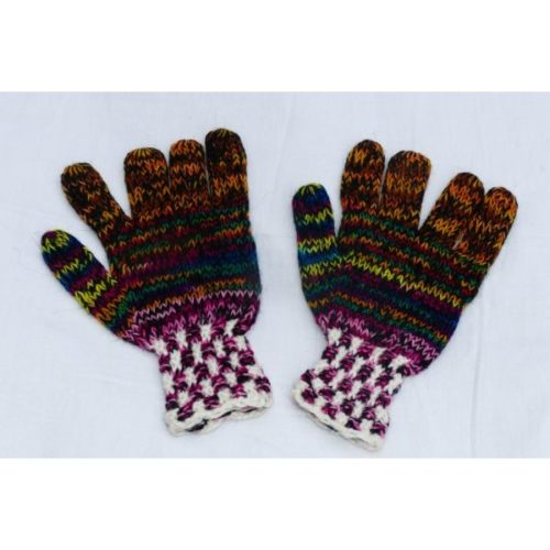 Gants multicolores adultes