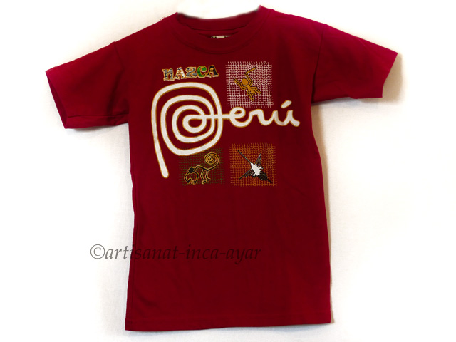 Tee shirt enfant Taille 6 ans - rouge